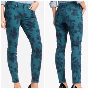 Lucky Brand 26 Legend Charlie Floral Jeans Pants